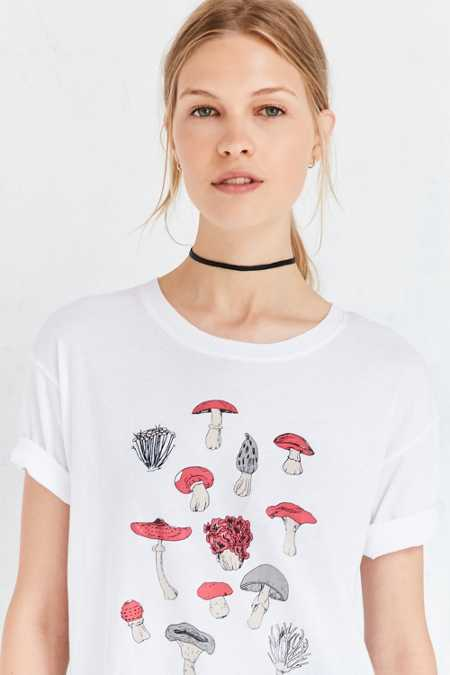 Truly Madly Deeply Mushroom Tee