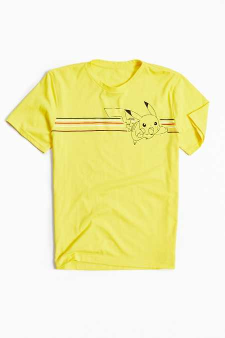 Pikachu Chest Stripe Tee