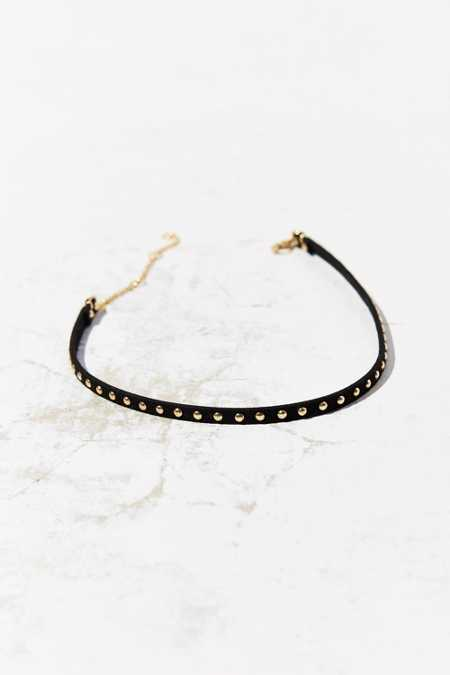 Studded Choker Necklace