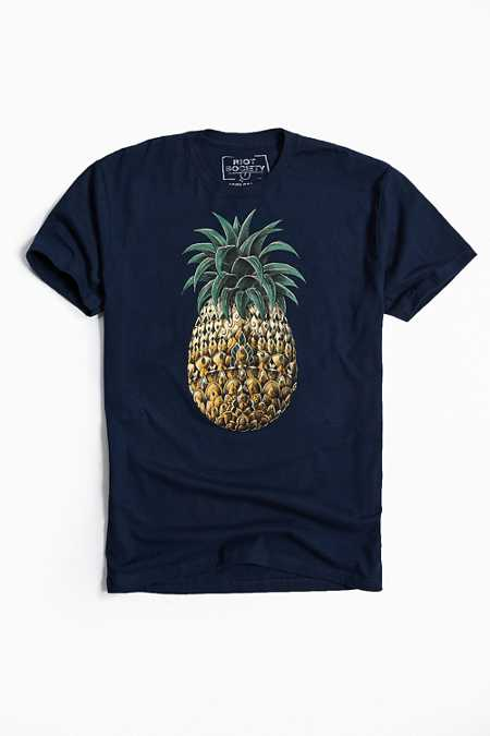 Riot Society Ornate Pineapple Tee