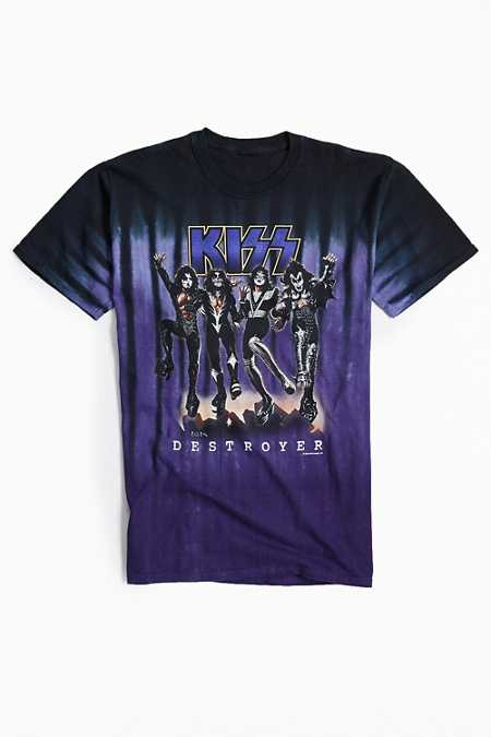 KISS Destroyer Tie-Dye Tee