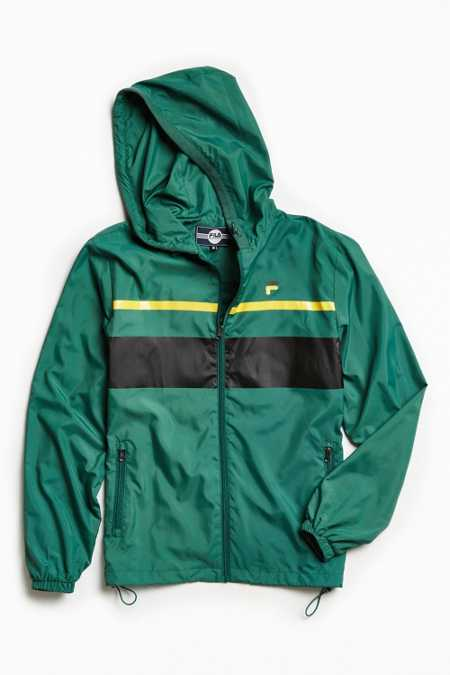 FILA Colorblocked Windbreaker Jacket