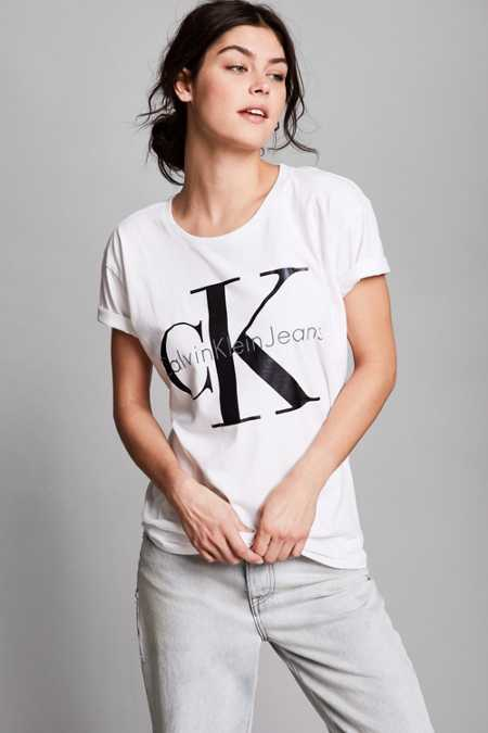 Calvin Klein For UO Heavy Knit Logo Tee