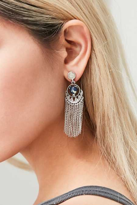 Dreamcatcher Fringe Earring