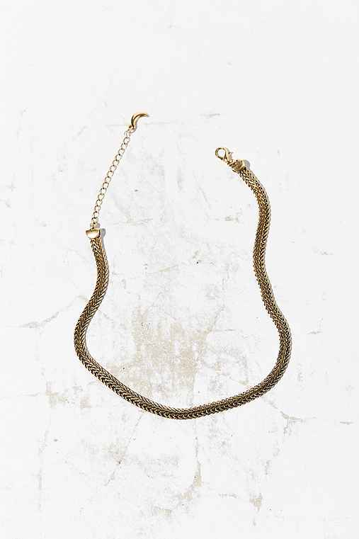 Milla Short Chain Necklace,GOLD,ONE SIZE
