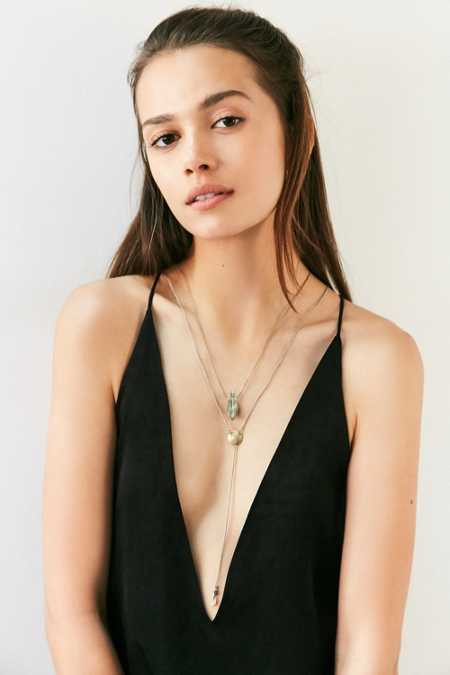 Spirited Layering Lariat Necklace Set