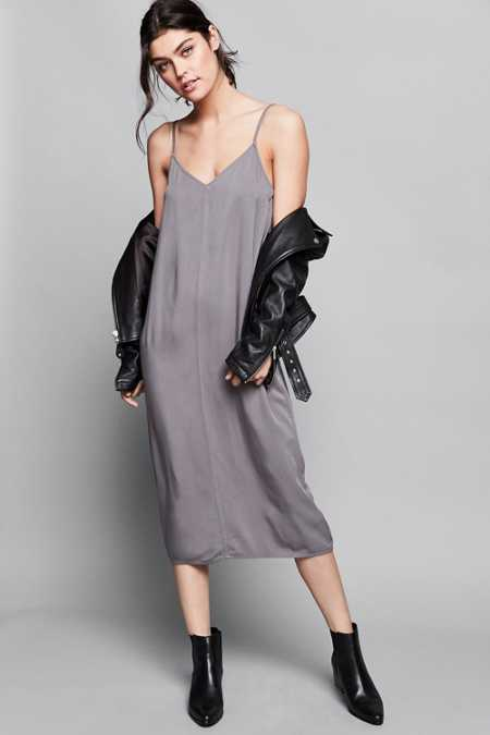 Calvin Klein For UO Midi Slip Dress