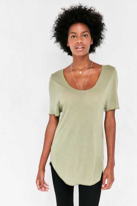Silence + Noise Amy Tunic Tee