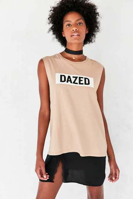 Truly Madly Deeply Blocked Muscle Tee