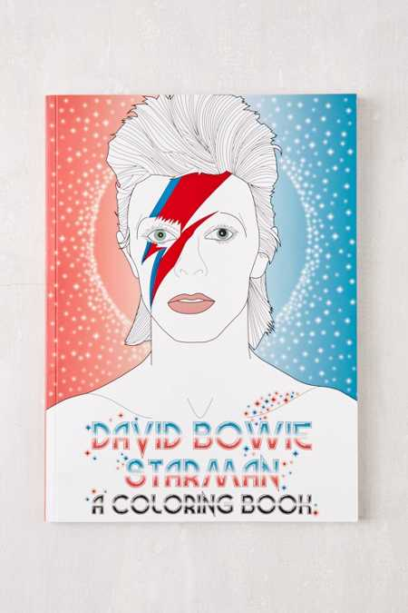 David Bowie Starman: A Coloring Book By Laura Coulman & Coco Balderrama