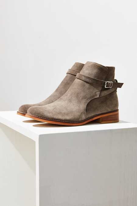 Sabine Buckle Wrap Ankle Boot