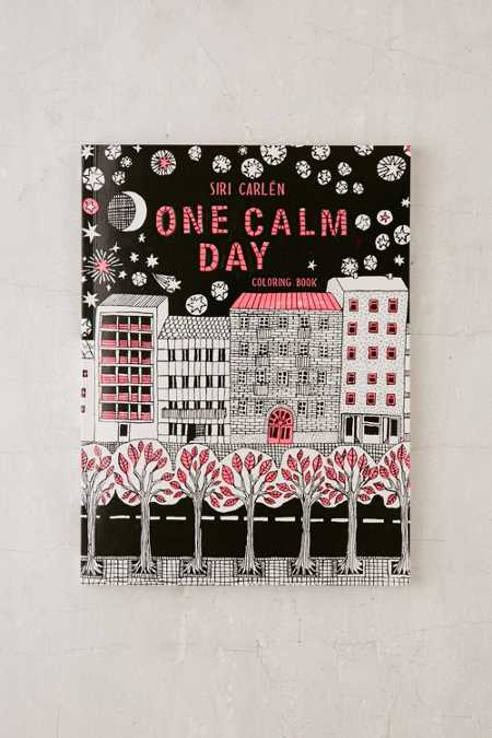 One Calm Day: Coloring Book By Siri Carlen