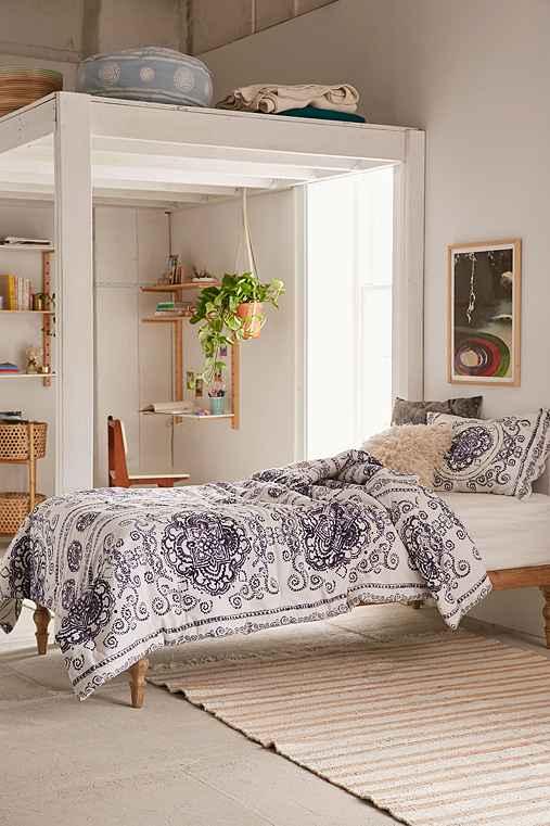 Yessa Watercolor Comforter,CREAM,TWIN XL