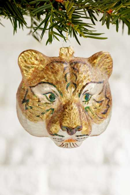 Tiger Glitter Ornament