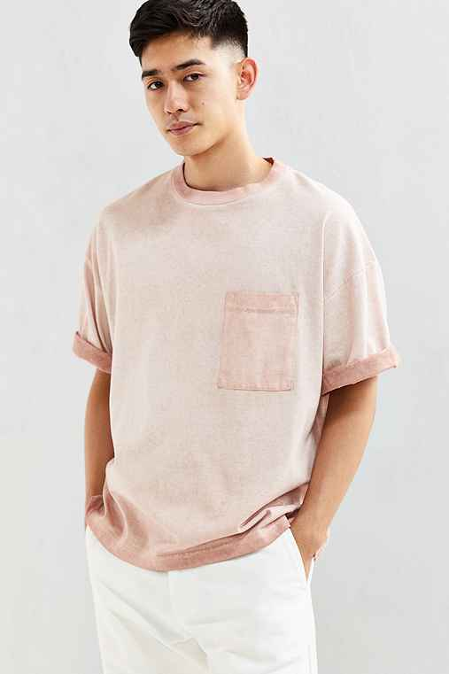 CPO Boxy Cropped Tee,PINK,L