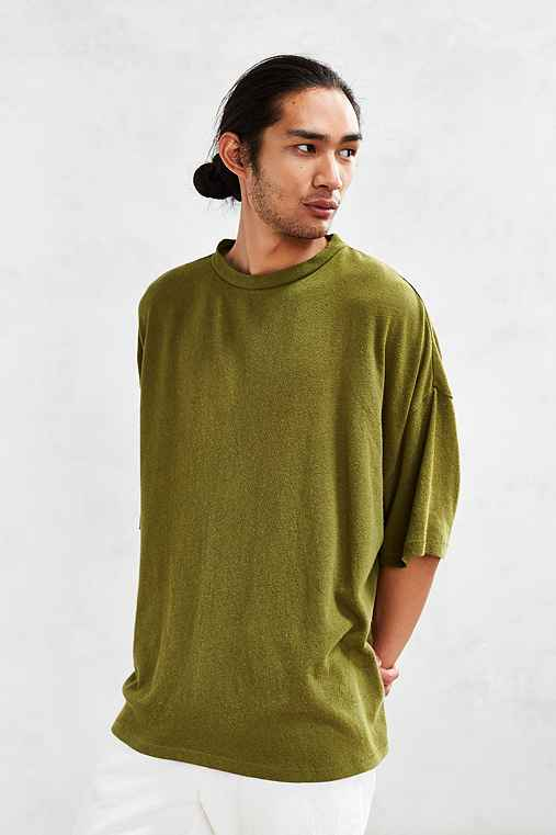 UO Extreme Oversized Tee,GREEN,ONE SIZE