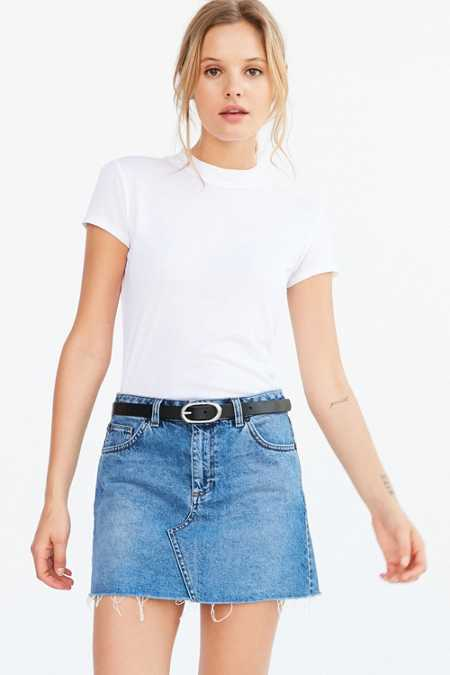 BDG 5-Pocket Denim Pelmet Mini Skirt
