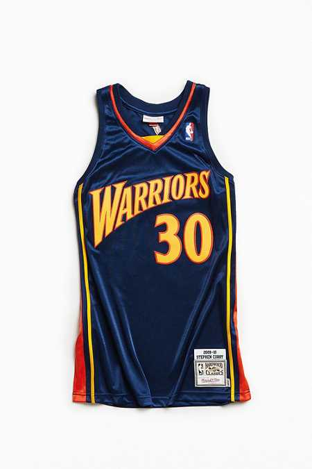Mitchell & Ness Stephen Curry Basketball Jersey
