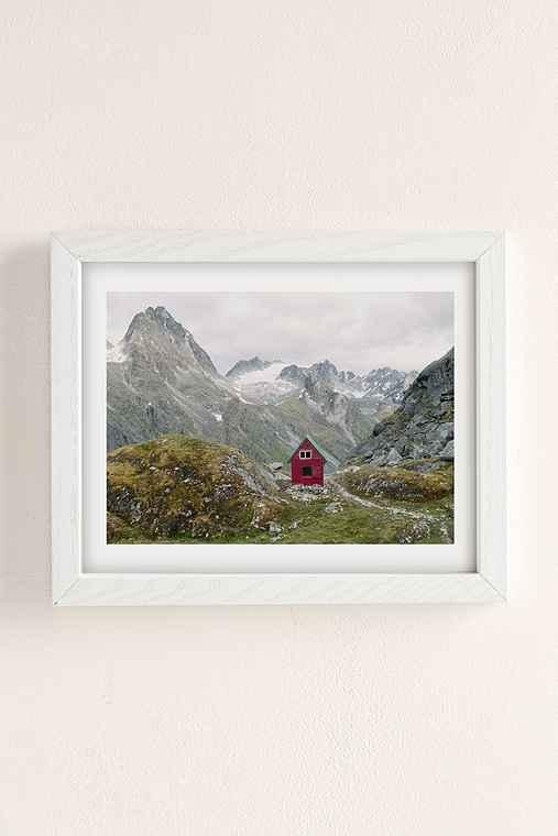 Kevin Russ Mint Hut Art Print,WHITE WOOD,8X10