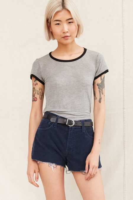 Urban Renewal Recycled Cord Short