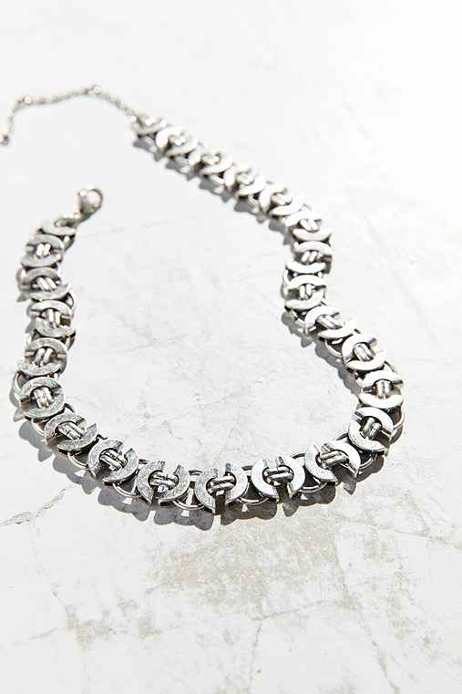 Gemma Hardware Chain Necklace,SILVER,ONE SIZE
