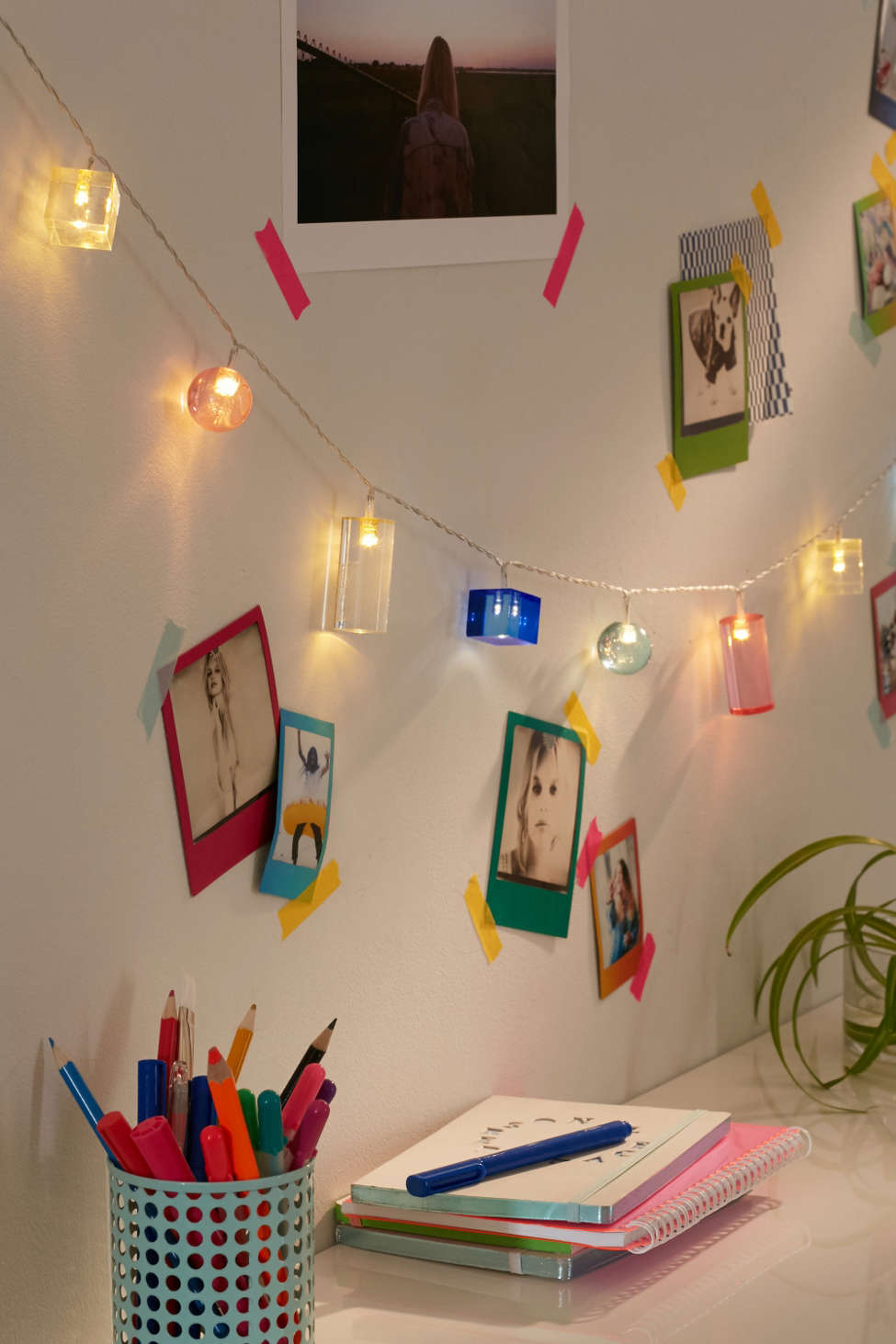Acrylic Shapes String Lights