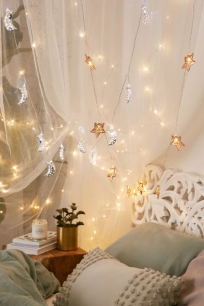 Led String Lights Urban Outfitters : Copper Star String Lights - Urban Outfitters