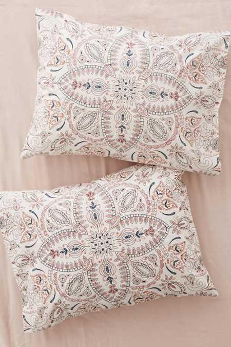 Halina Folk Floral Sham Set