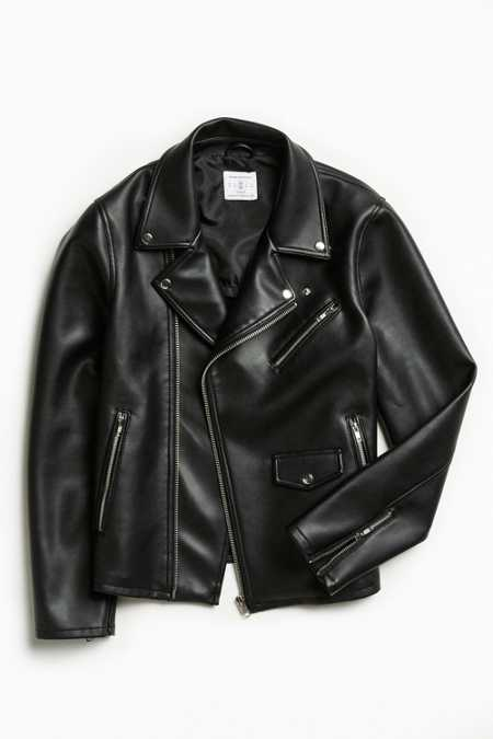 UO Faux Leather Moto Jacket