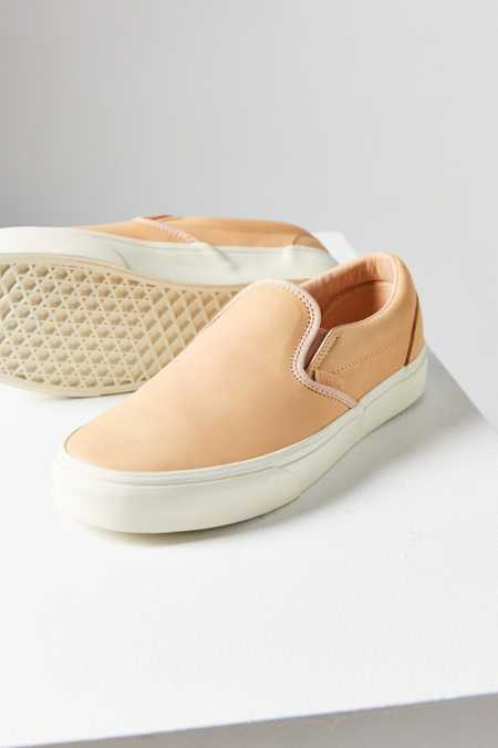 Vans Veggie Tan Leather Classic Slip-On Sneaker