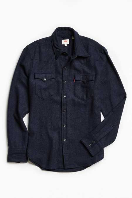 Levi's Barstow Wool Western Shirt