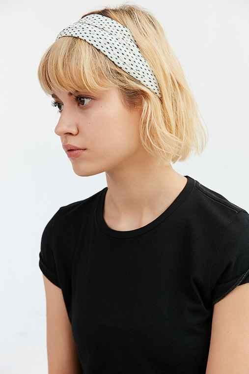 Bella Wide Headwrap,BLUE,ONE SIZE
