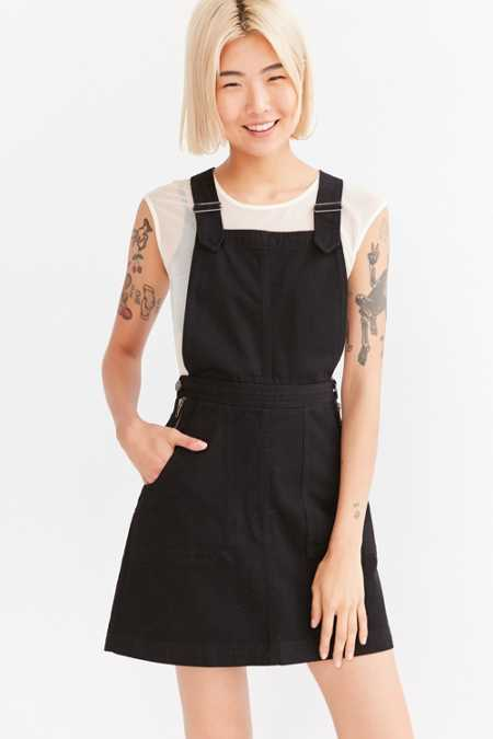 Cooperative Denim A-Line Jumper Mini Dress