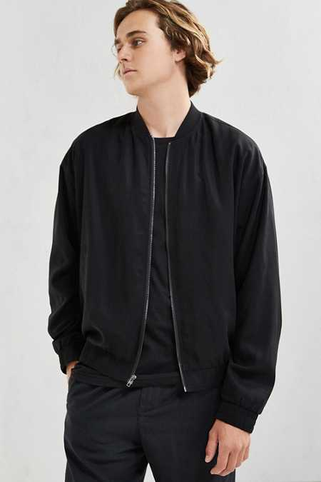 UO Oversized Bomber Jacket