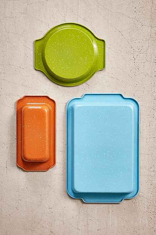 3-Piece Bakeware Set,MULTI,ONE SIZE