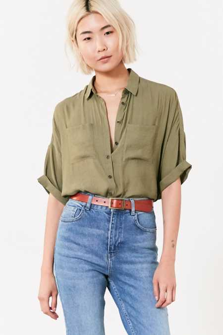 Silence + Noise Joey Button-Down Shirt