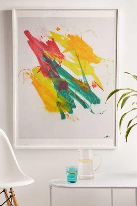 Calo Rosa Flora Art Print