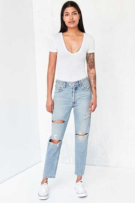 AGOLDE Jaime High-Rise Jean - Slash
