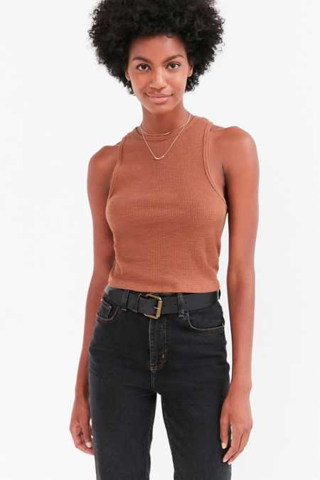 BDG Bitty Cropped Tank Top