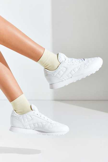 Reebok Classic Leather Quilted Sneaker