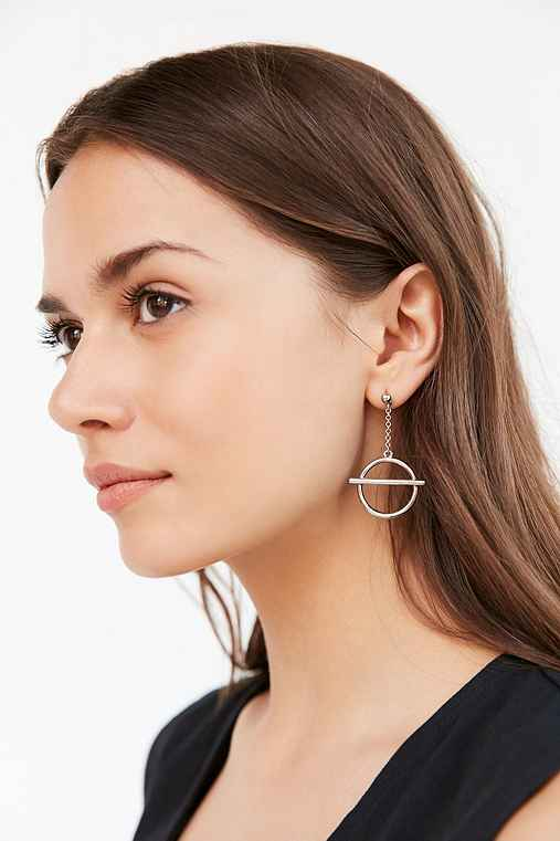 Effie Statement Earring,SILVER,ONE SIZE