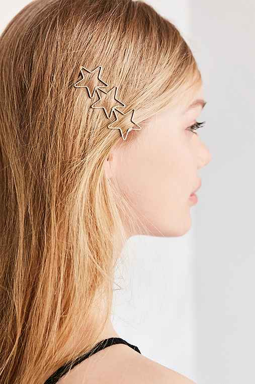 Starlight Hair Clip,GOLD,ONE SIZE