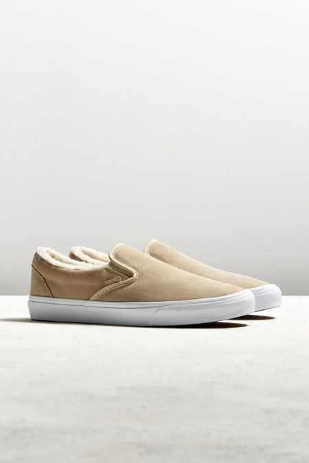 Vans Classic Fleece Slip-On Sneaker