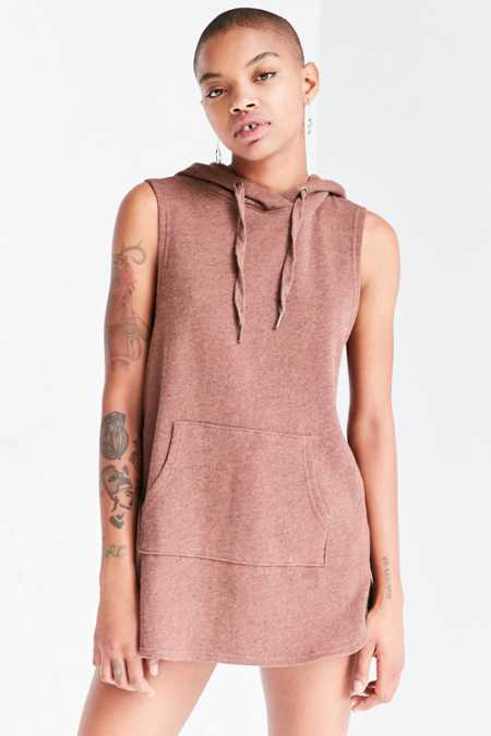 BDG Skyler Hooded Muscle Tunic Top
