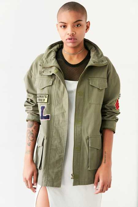 BDG Georgie Patched 4-Pocket Surplus Jacket