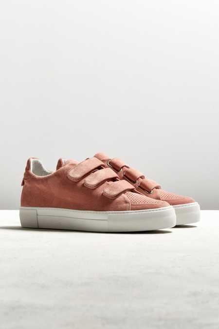 AMB X UO NY Three Strap Suede Sneaker