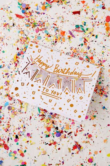Thimblepress Confetti Birthday Card