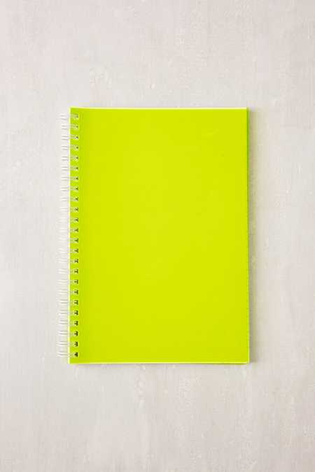 Neon Jelly Notebook