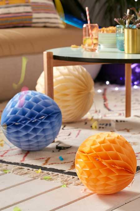 Pastel Honeycomb Decor Set