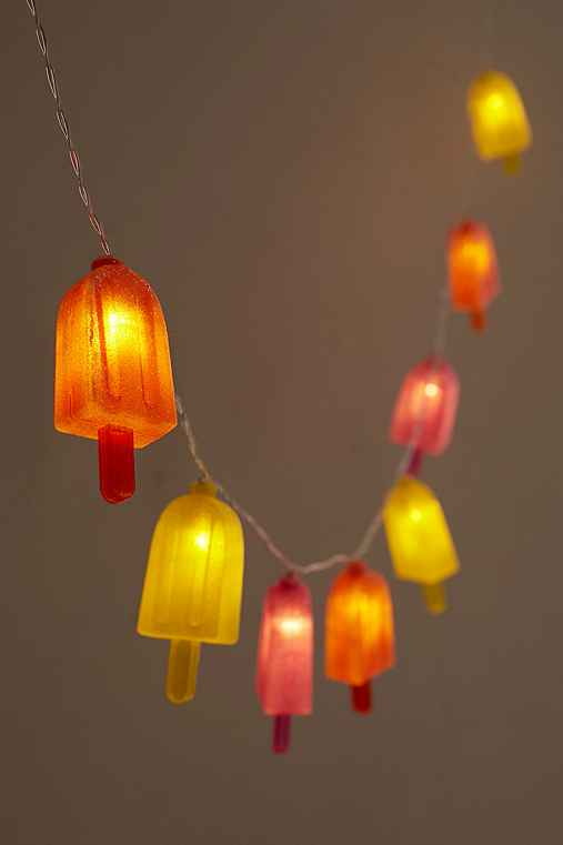 Popsicle string lights urban outfitters for Fairy lights urban outfitters us
